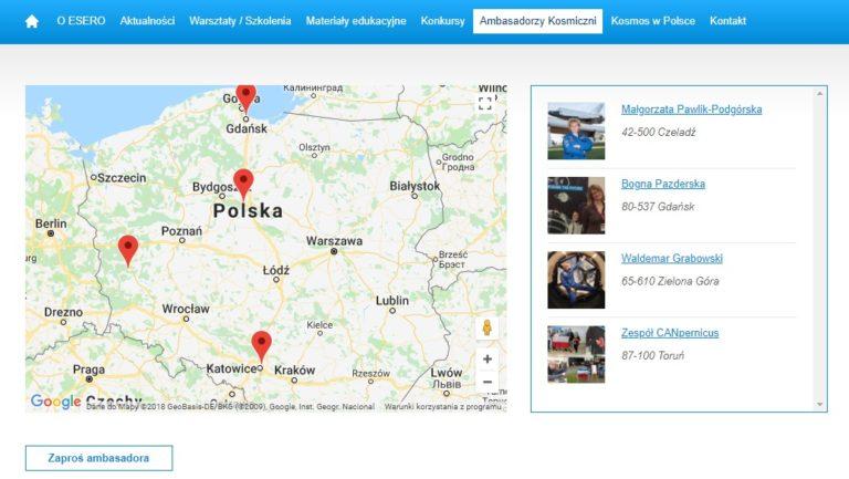 Rekrutacja do ESERO-Polska @ mazowieckie | Polska