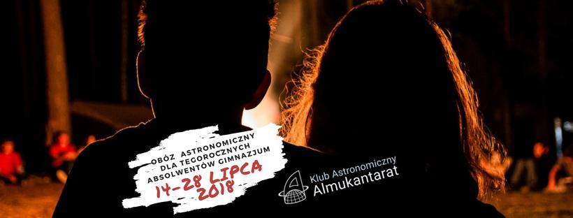 Obóz astronomiczny dla gimnazjalistów!