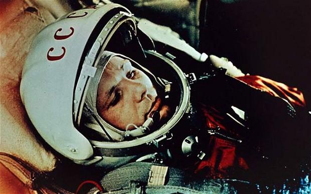 Jurij Gagarin pierwszym człowiekiem w kosmosie