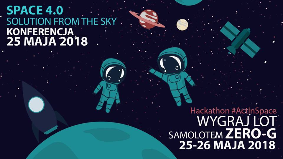 Space 4.0: Solution from the Sky & Act In Space: Kraków @ ul. Podole 60