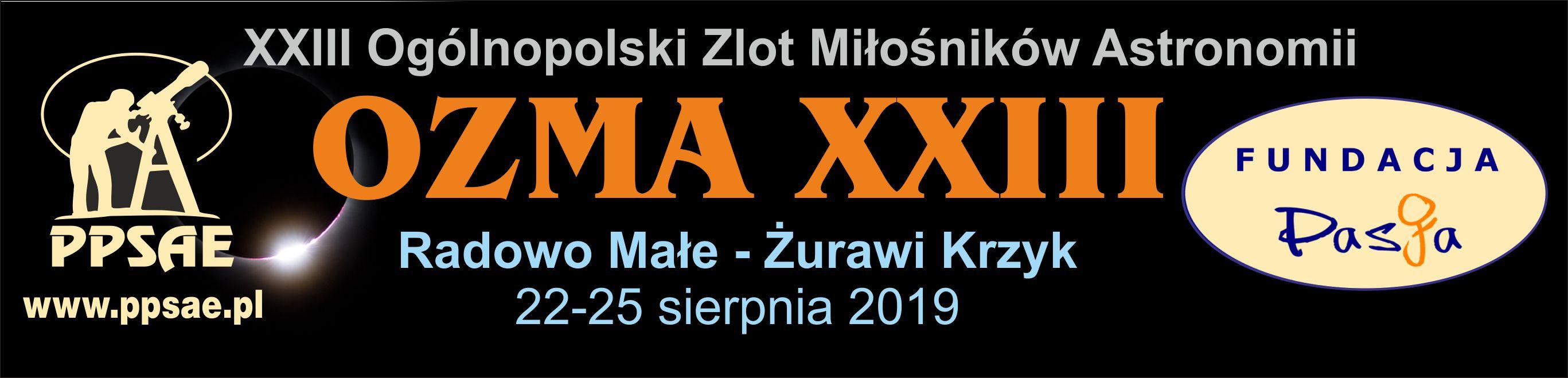 XXIII Ogólnopolski Zlot Miłośników Astronomii @ 56 Radowo Małe