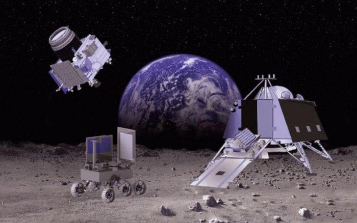 Lądowanie sondy Chandrayaan-2 na Księżycu