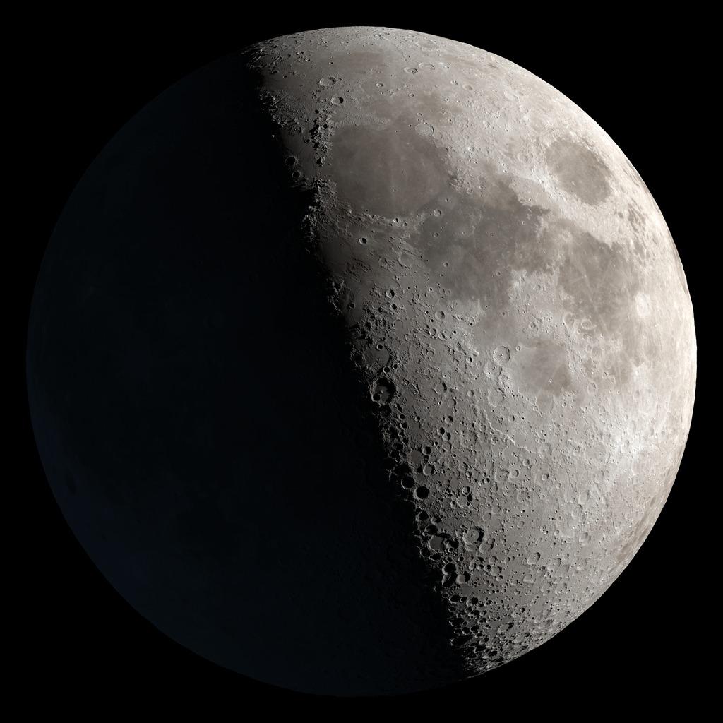🌓 Pierwsza kwadra Księżyca