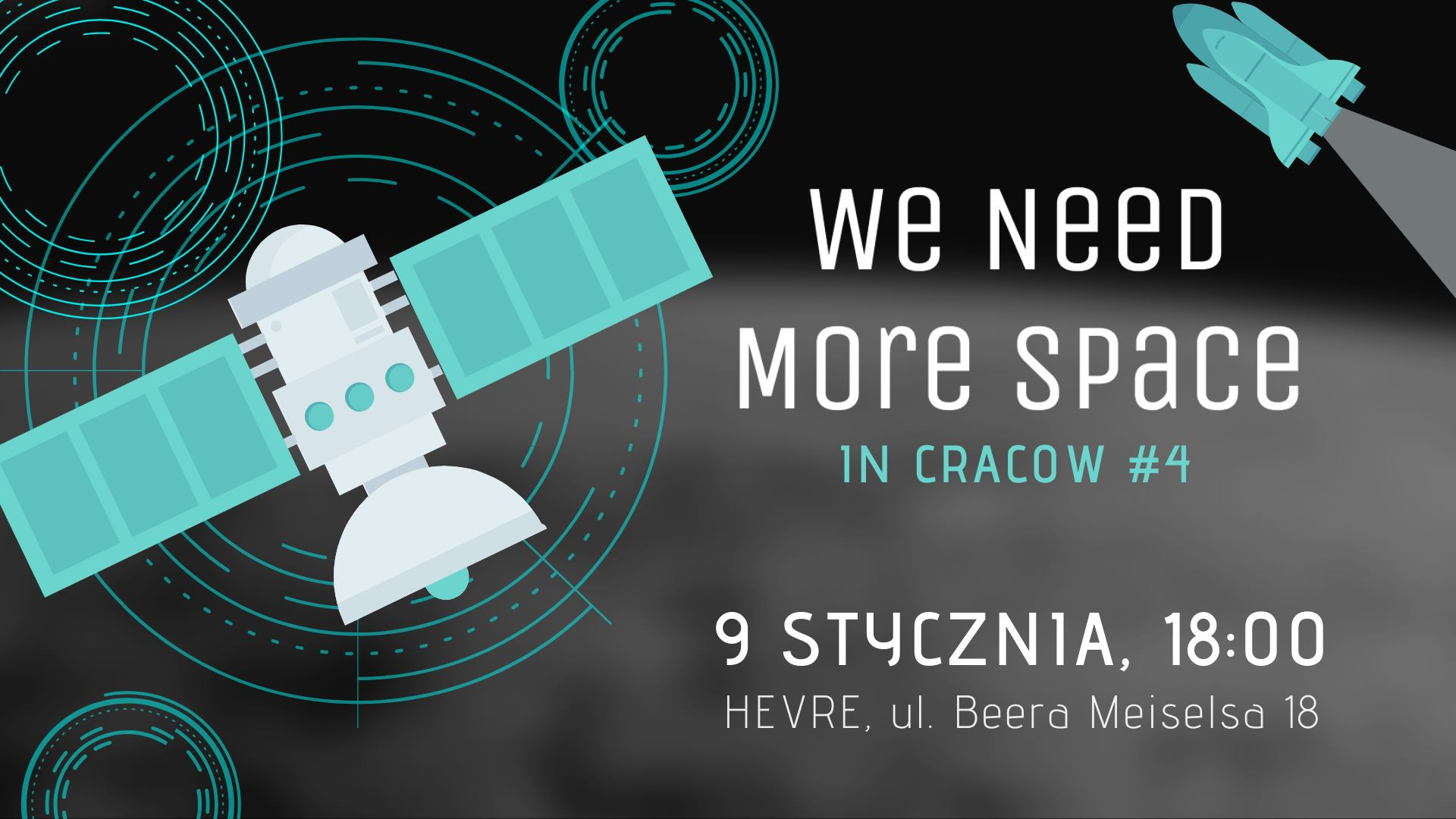 We Need More Space in Cracow #4 @ HEVRE