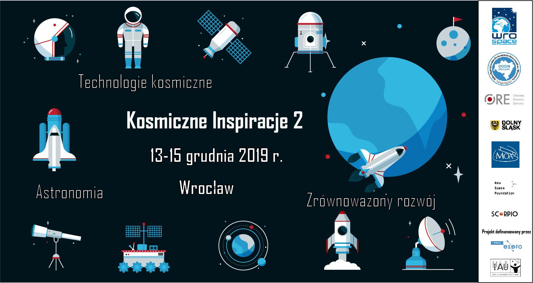 Kosmiczne Inspiracje - szkolenie dla nauczycieli @ Dolnośląski Ośrodek Doskonalenia Nauczycieli weWrocławiu