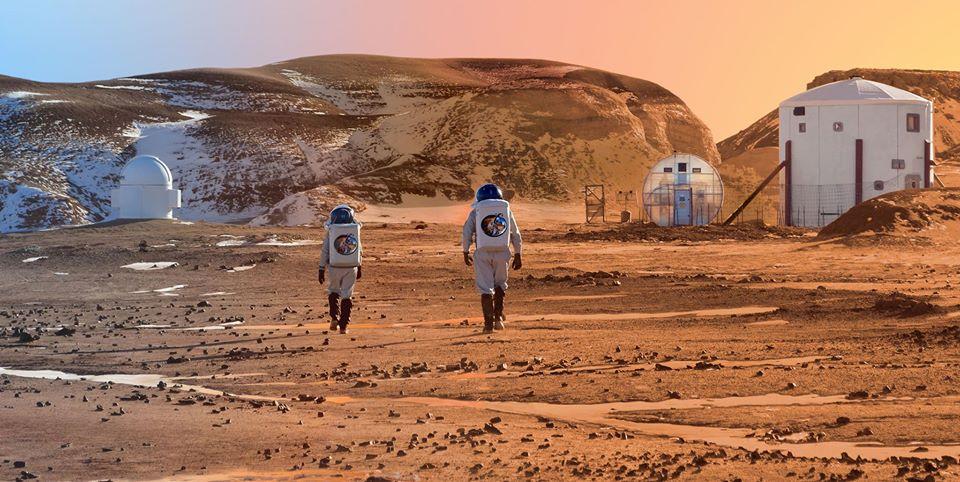 Lot naMarsa – Tranzyt Ziemi natle Słońca @ MARS