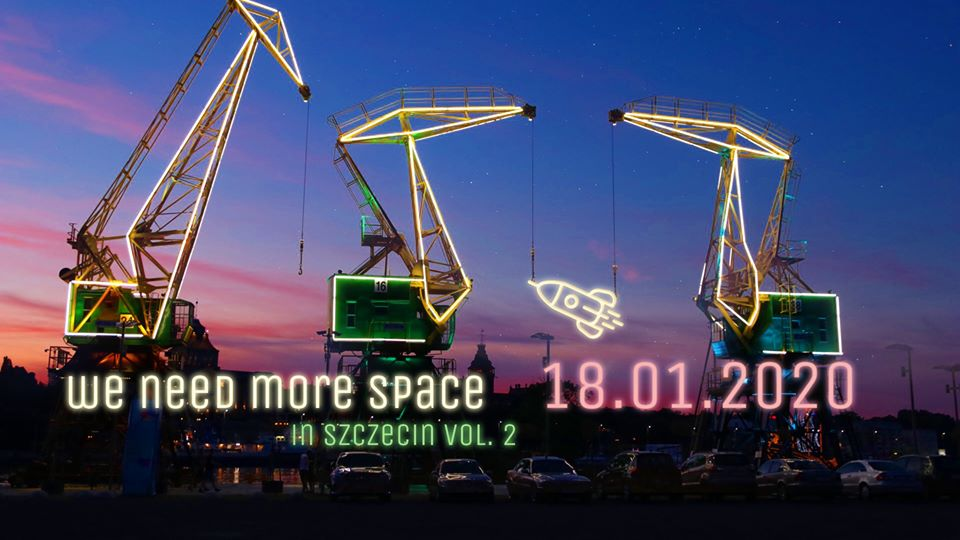 We Need More Space in Szczecin #2 @ ul. Cyfrowa 2-8