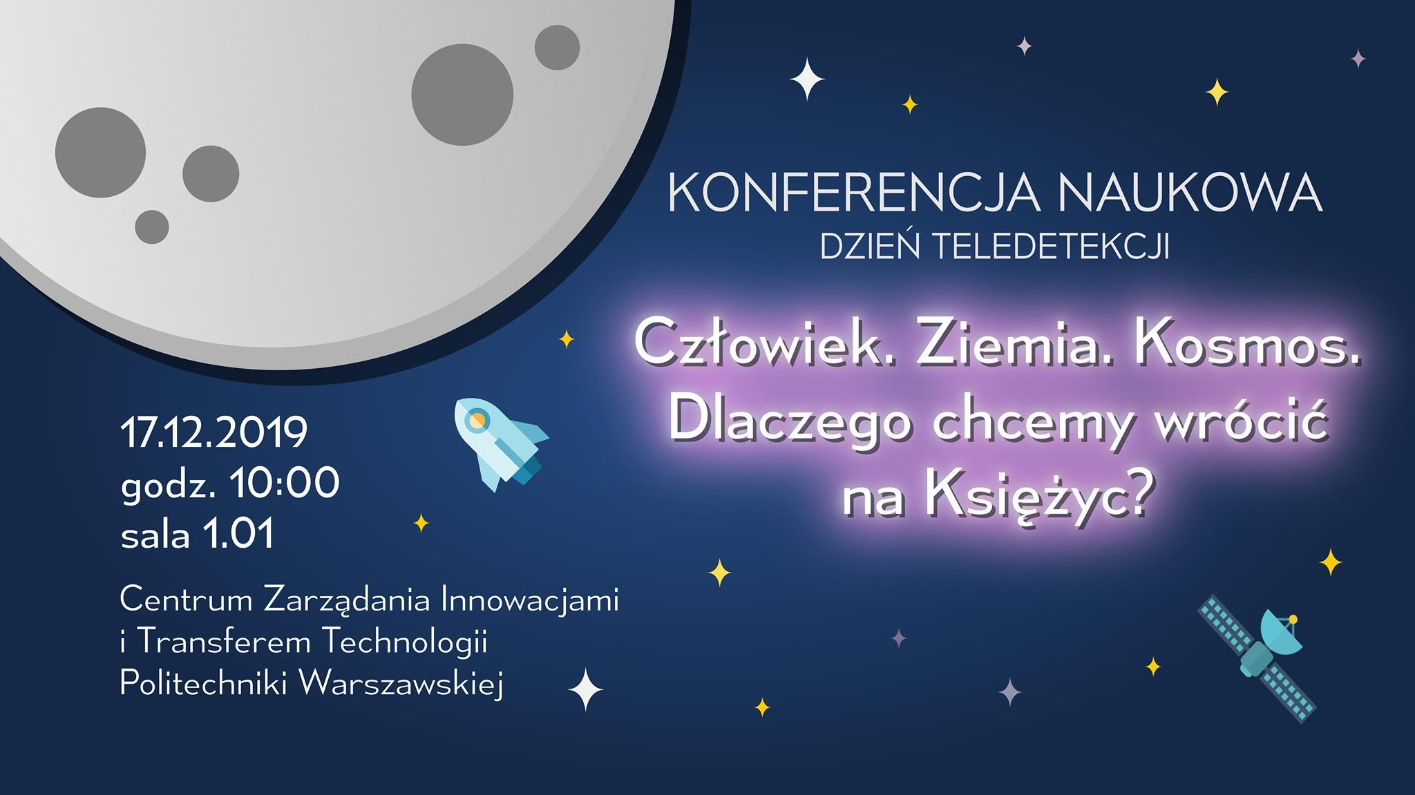 Konferencja Naukowa - Dzień Teledetekcji 2019 @ Centrum Zarządzania Innowacjami iTransferem Technologii PW