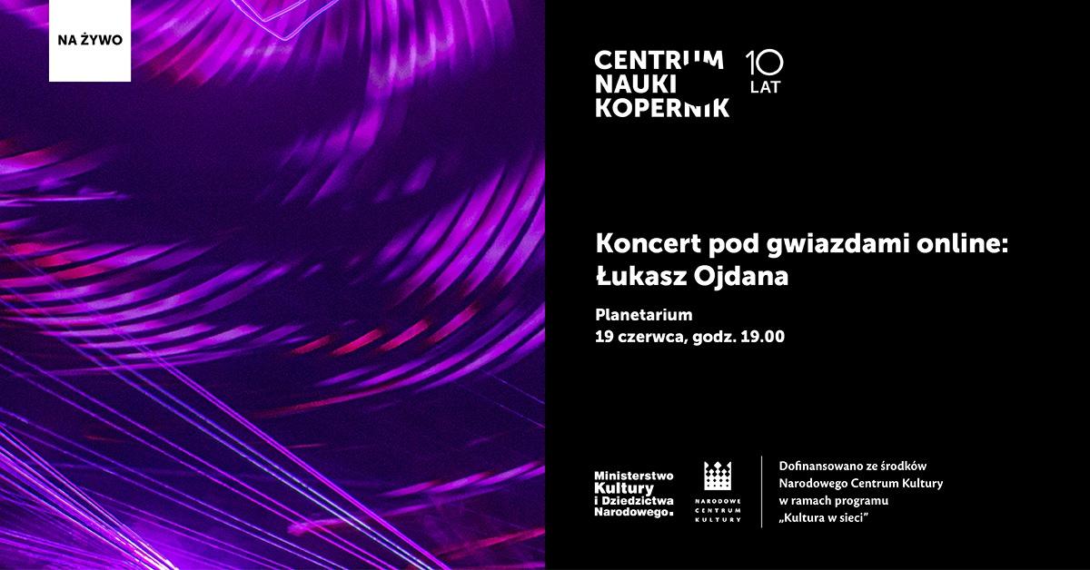 Koncert podgwiazdami online: Łukasz Ojdana @ Online