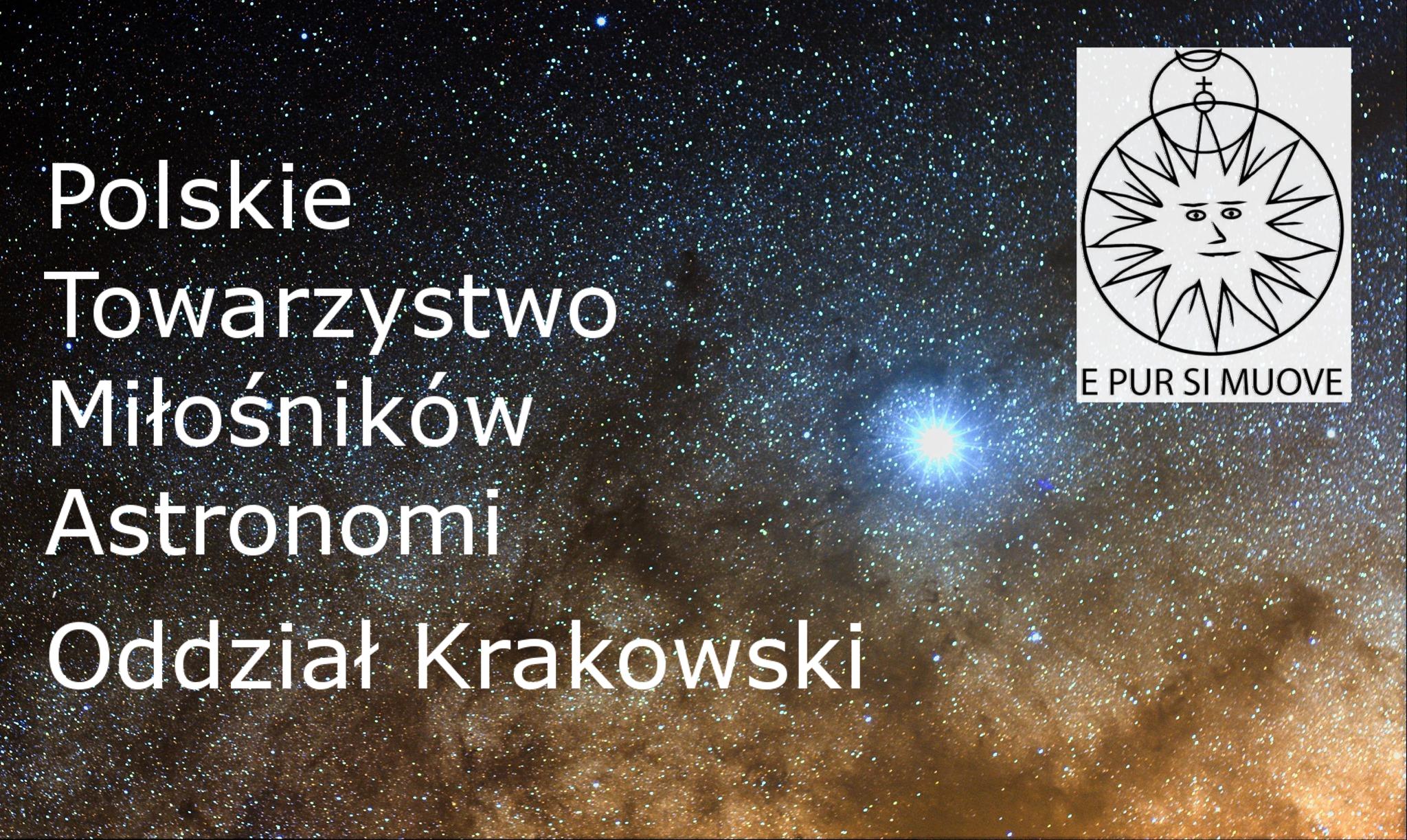 Obserwacje zjawisk zakryciowych, cz.2  - Marcin Filipek - PTMA Kraków @ ul. Górników 27