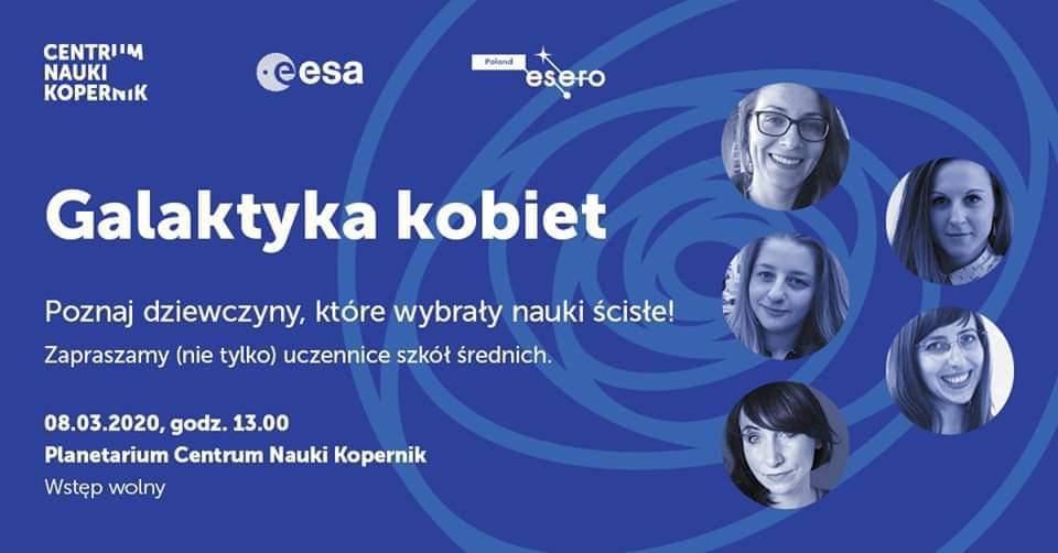 Galaktyka kobiet V @ Planetarium Centrum Nauki Kopernik