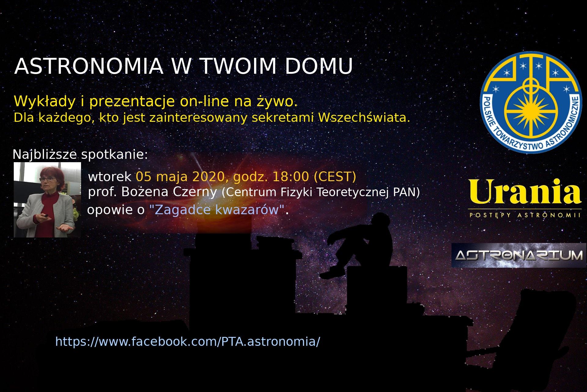 Astronomia w Twoim domu IX @ Online