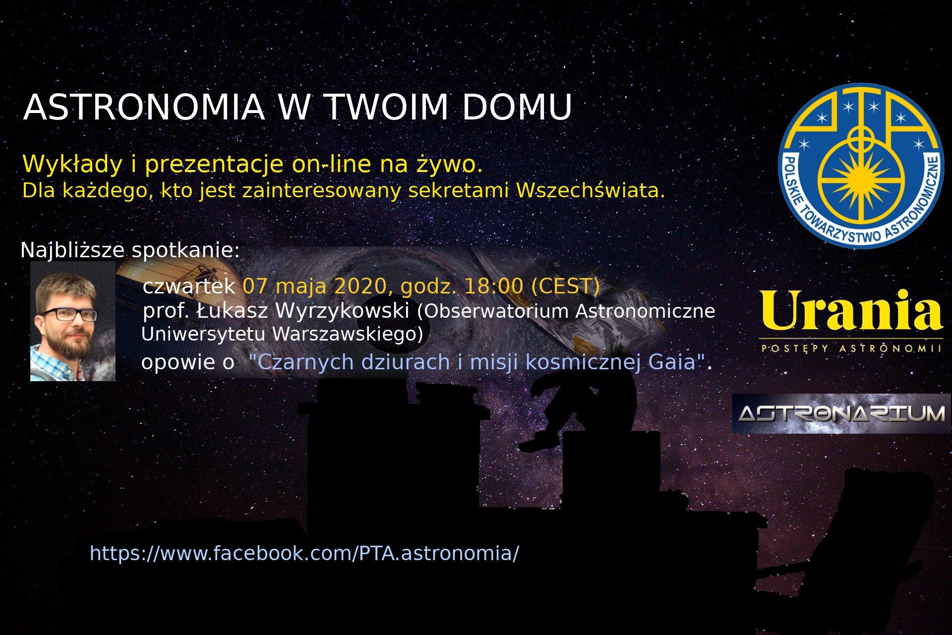 Astronomia w Twoim domu X @ Online