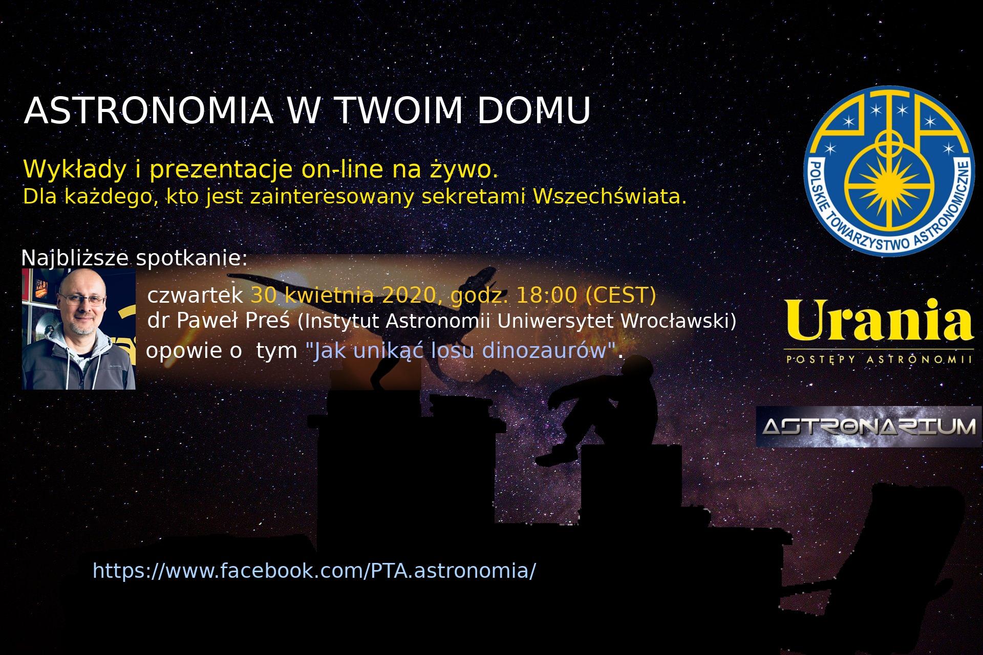 Astronomia wTwoim domu VIII @ Online