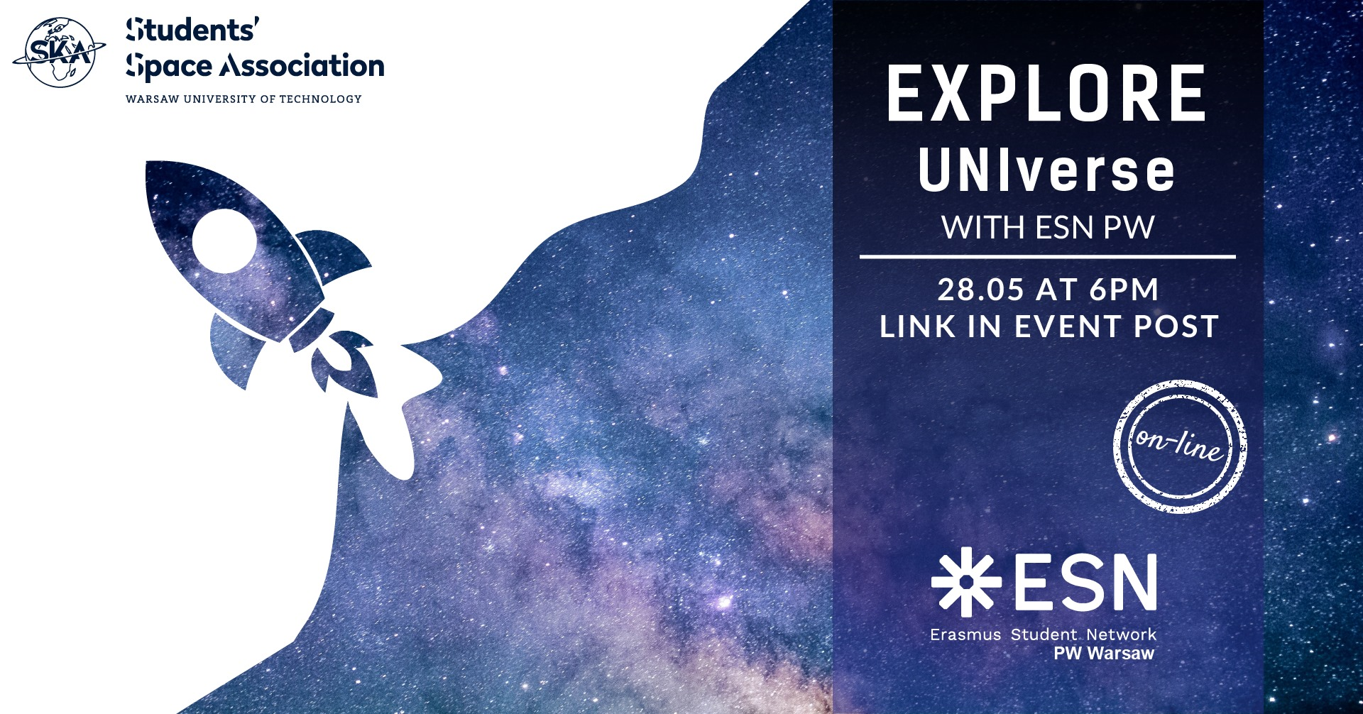 Explore UNIverse with ESN PW @ online