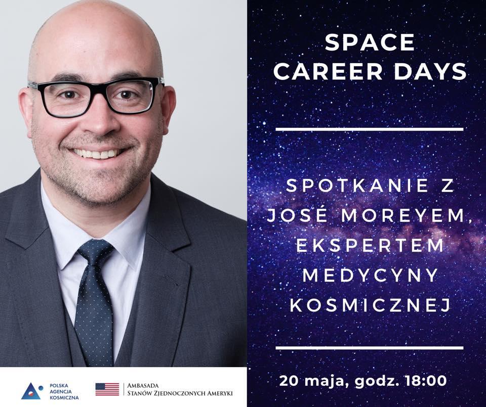 Espert medycyny kosmicznej, Jose Morey - Space Career Days II @ Online