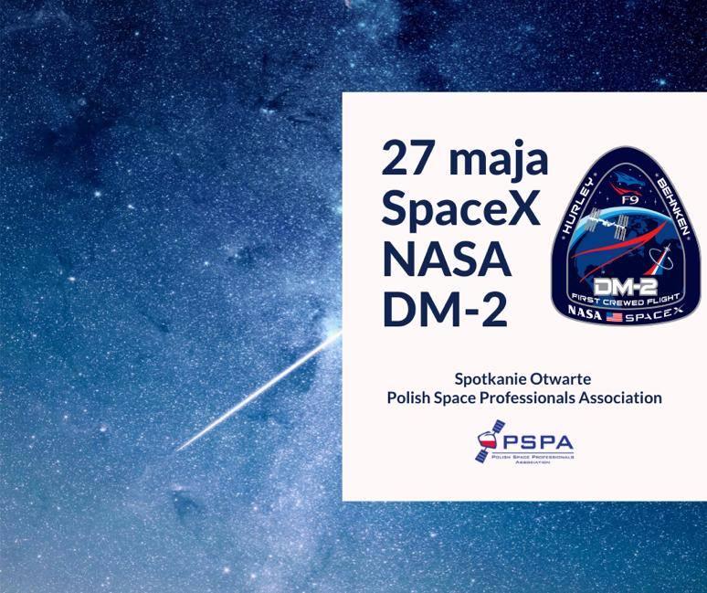 PSPA spotkanie otwarte: wspólne oglądanie startu DM-2 @ Online