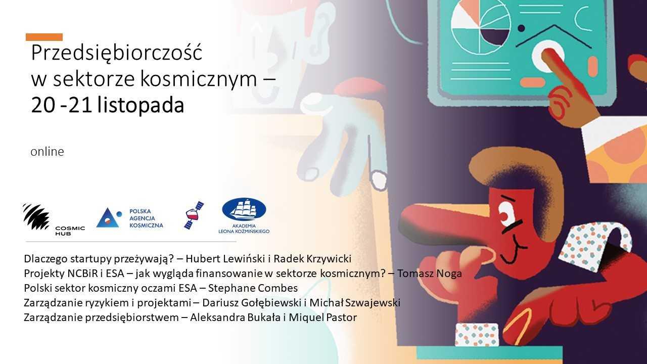 Przedsiębiorczość wsektorze kosmicznym @ Politechnika Gdańska