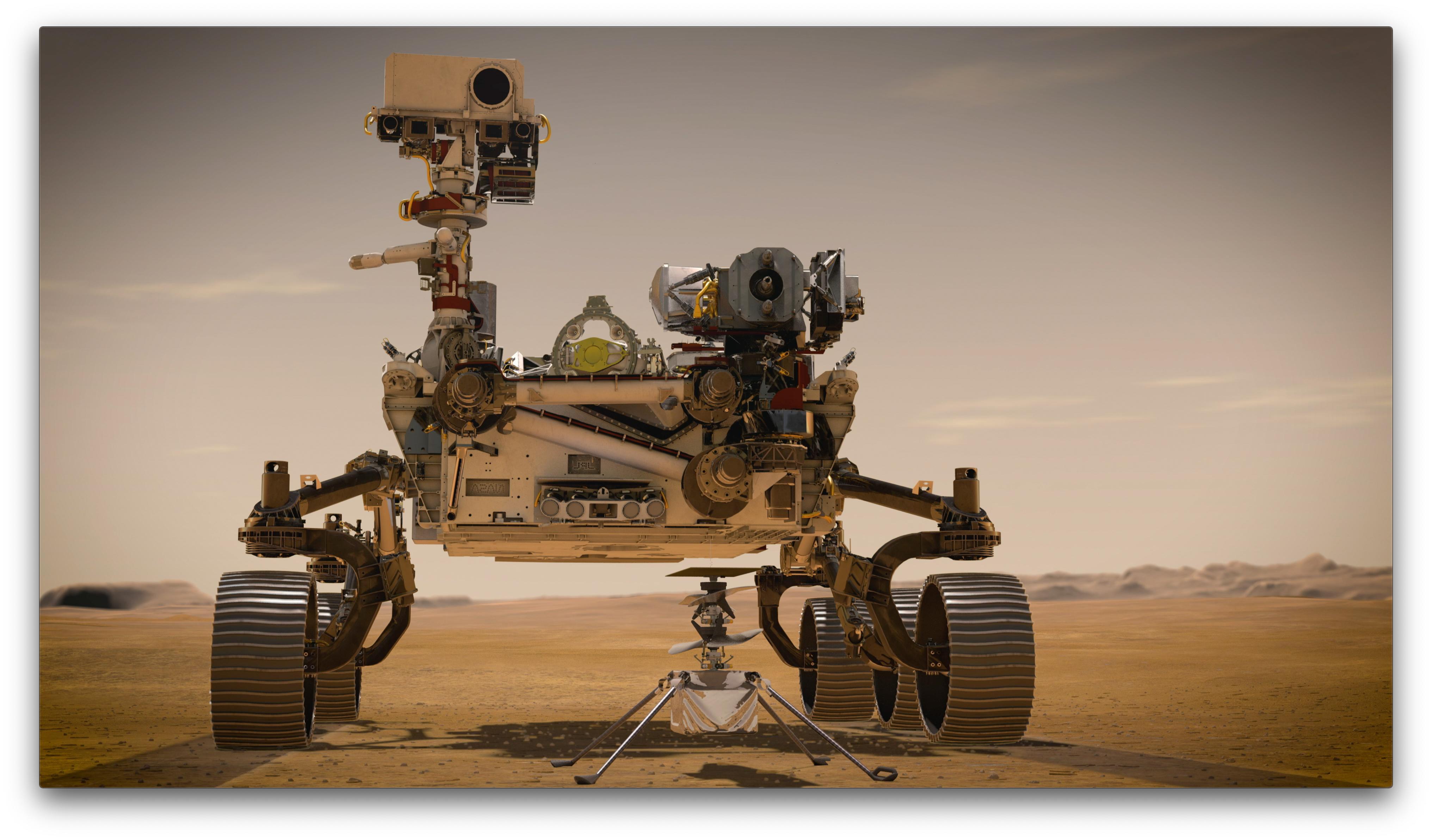 Start misji Mars 2020 Preservance