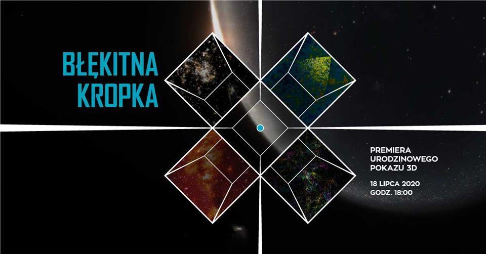 "Premiera pokazu 3D ""Błękitna Kropka"" wPlanetarium Wenus @ Zielona Góra"