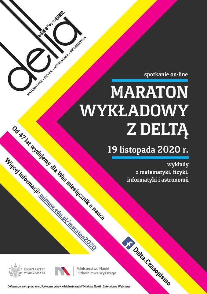 Maraton wykładowy z Deltą @ Online