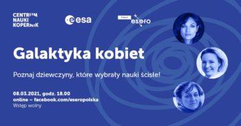 Galaktyka kobiet VII | ESERO Polska @ Online