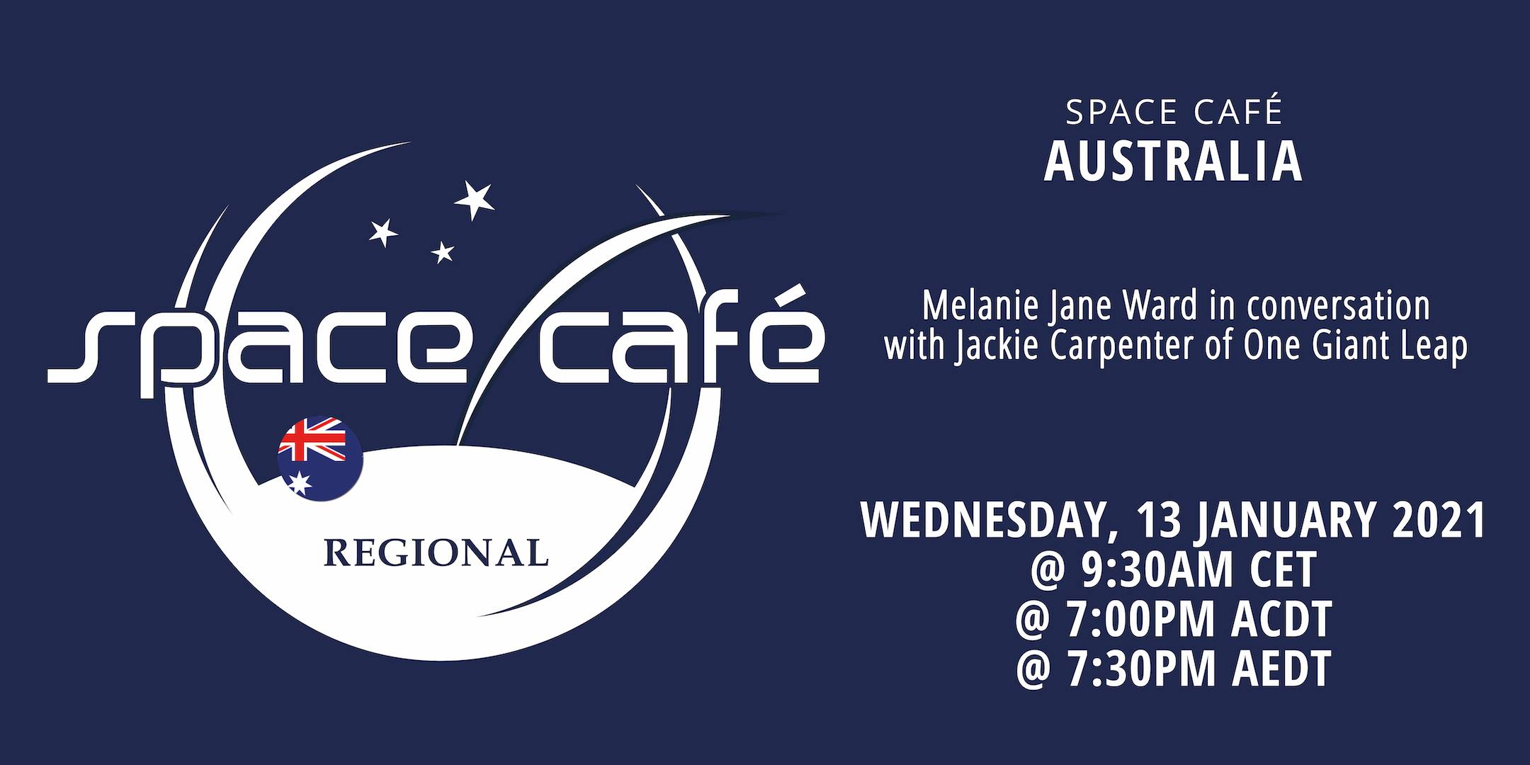 Space Café Australia by Melanie Jane Ward