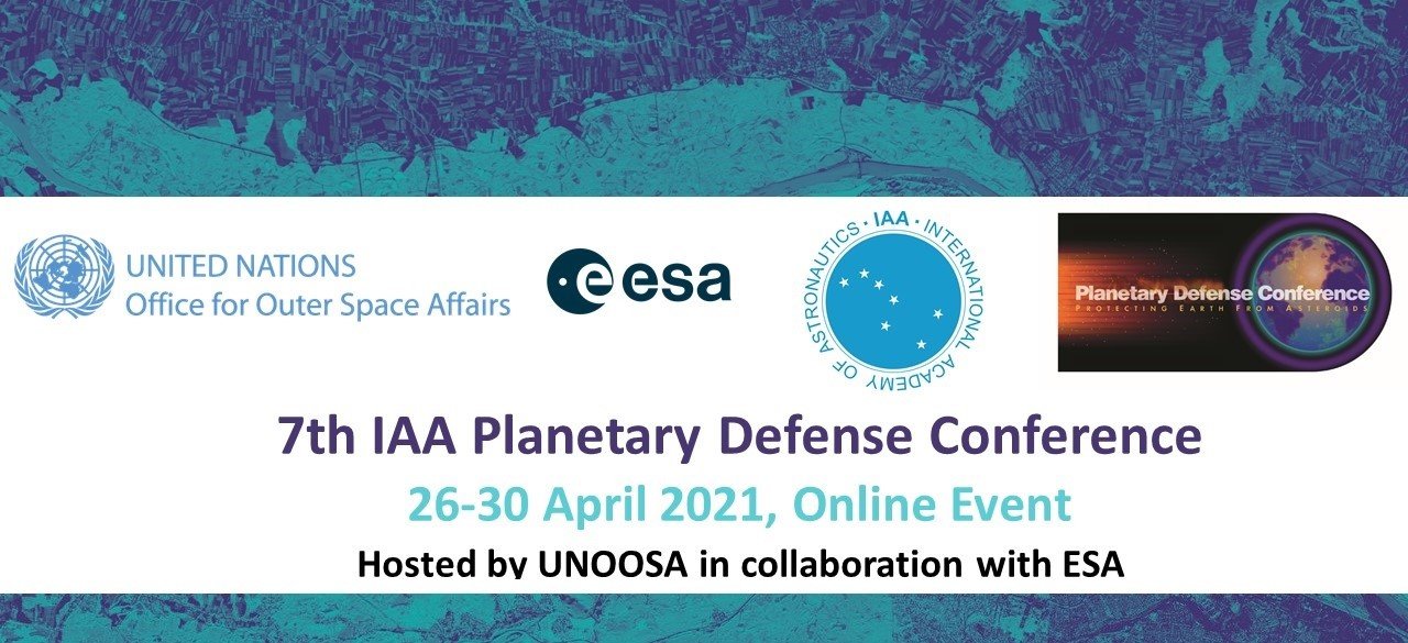 7th IAA Planetary Defense Conference @ Online