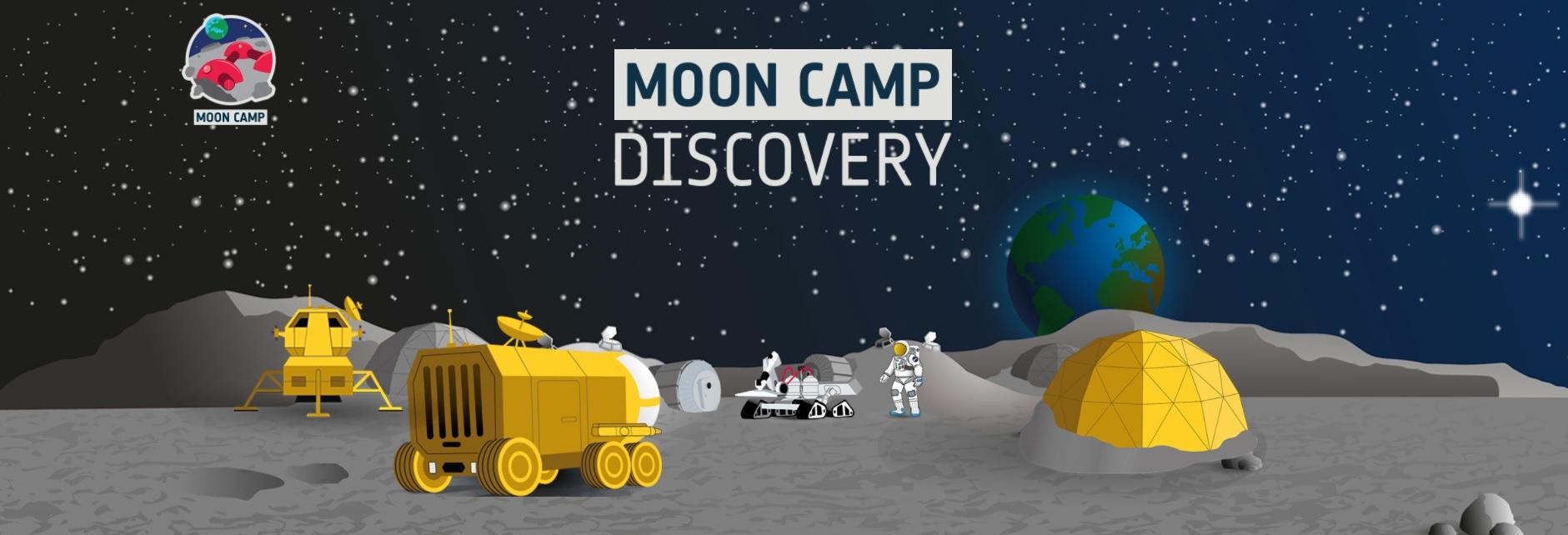 Koniec zapisów naMoon Camp Discovery @ Online