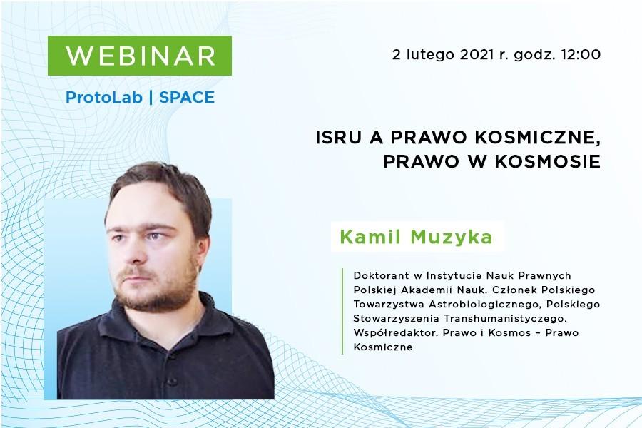 webinar: ISRU aprawo kosmiczne iprawo wkosmosie @ Online