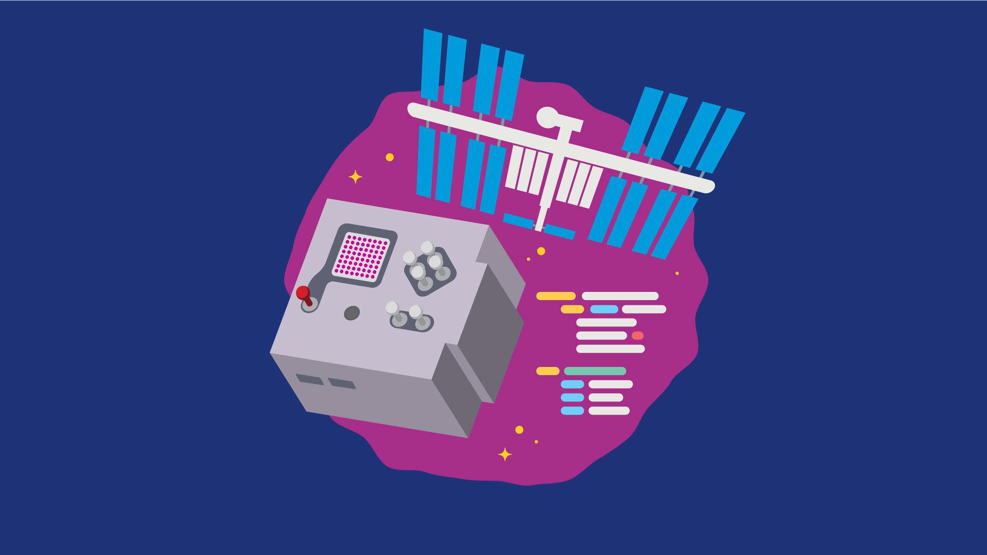 Koniec zapisów naWarsztaty Run experiments on the ISS using Astro Pi @ Online