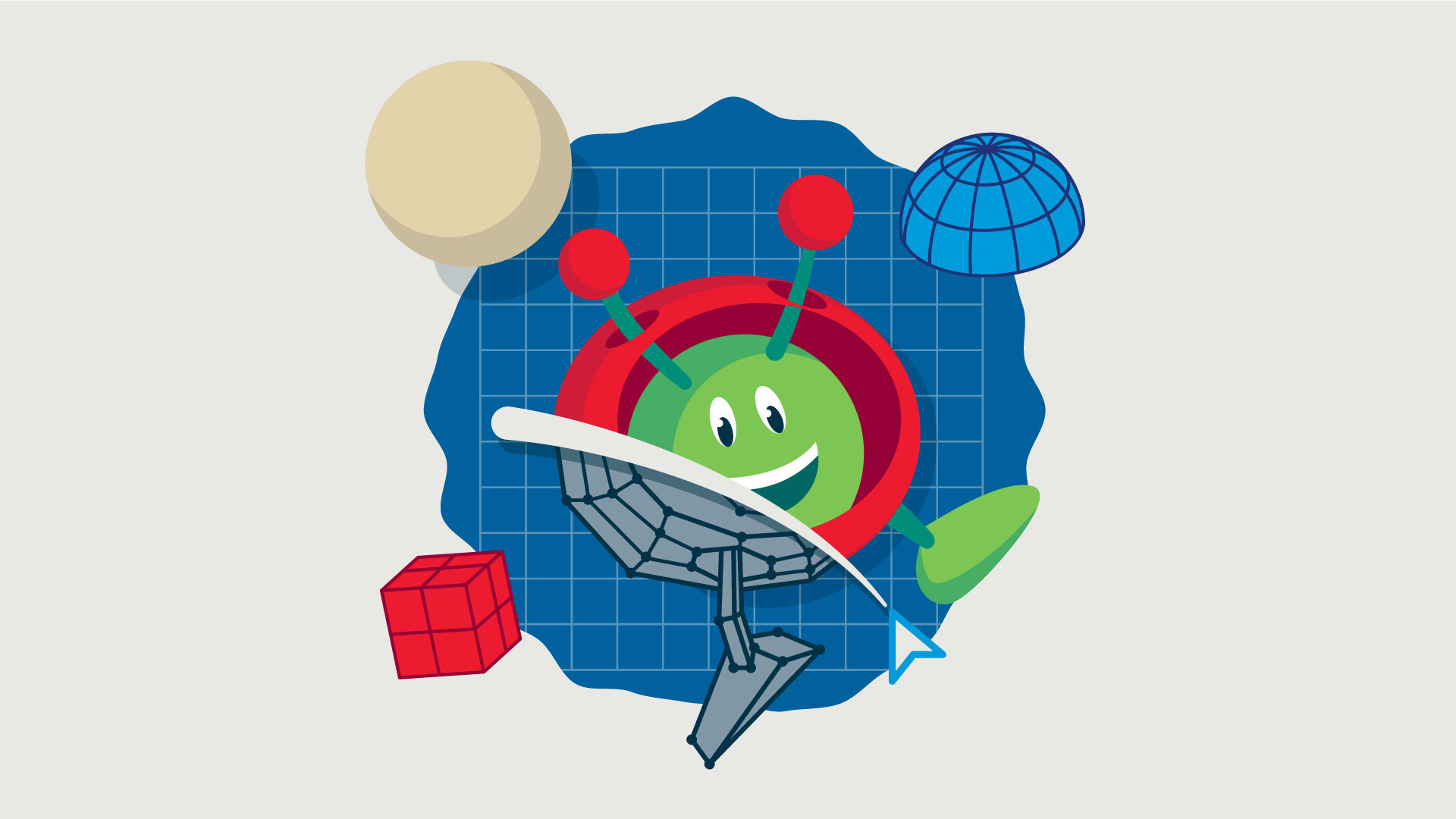 Koniec zapisów nawarsztaty Teach with Space: 3D design in education @ Online