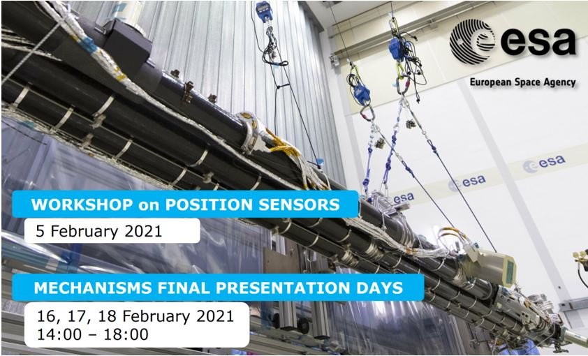 Space Mechanisms Workshop 2021 on Position Sensors