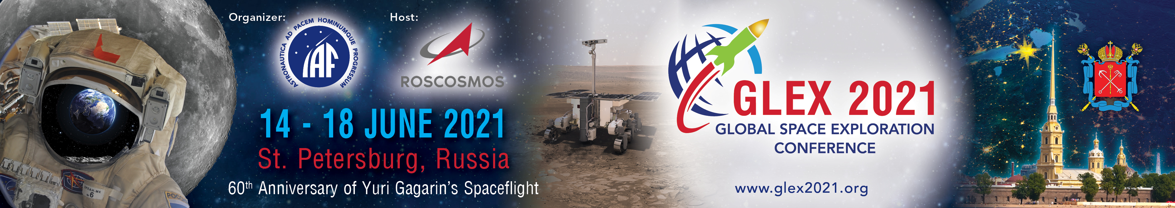 The Global Space Exploration Conference 2021 @ St. Petersburg, Rosja