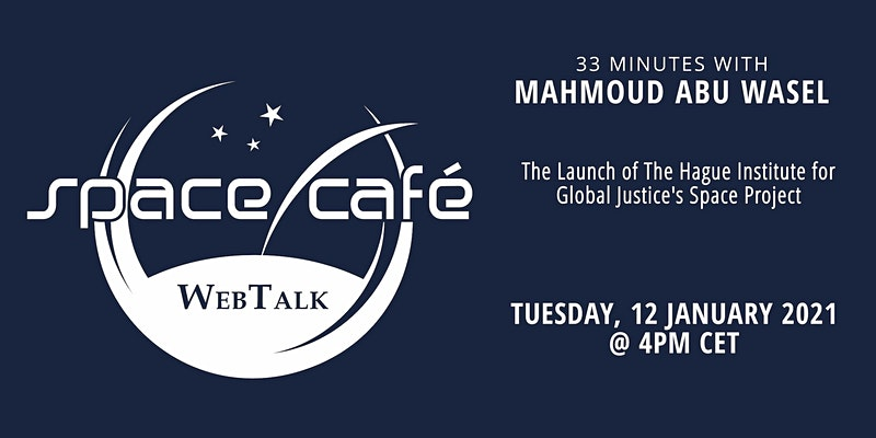 33 minutes with Mahmoud Abu Wasel - Space Café WebTalk