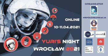 Yuri's Night Wrocław 2021 @ online