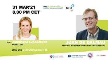 Juan de Dalmau - Prezydent International Space University | WeInnovators Club @ Online Zoom