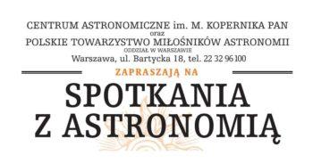 Spotkania z Astronomią @ Online: Zoom, YouTube