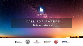 [CALL FOR PAPERS] Opublikuj pracę naukową o astropolityce lub prawie kosmicznym! @ Online: adastra.im.edu.pl