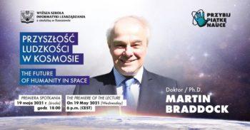 Wykład: Przyszłość ludzkości w kosmosie. Lecture: The Future of Humanity in Space. @ Online w Facebook Live