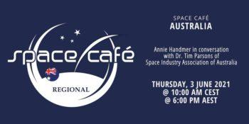 Space Café Australia byAnnie Handmer @ Online wFacebook Live