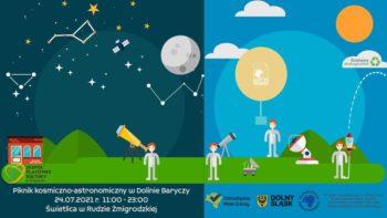 Piknik kosmiczno-astronomiczny w Dolinie Baryczy @ 55-140 Ruda Żmigrodzka