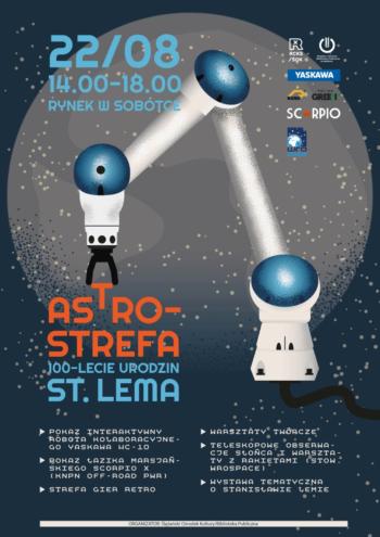 ASTROSTREFA - piknik edukacyjny na100-lecie urodzin Stanisława Lema. @ Rynek wSobótce