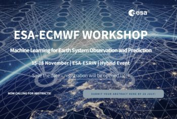 ESA-ECMWF workshop on Machine Learning for Earth System Observation and Prediction @ Wydarzenie online