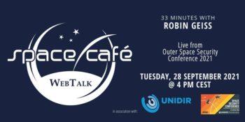 "Space Café WebTalk - ""33 minutes with Robin Geiss"" @ Wydarzenie online"