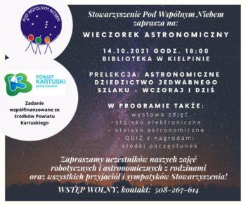 Wieczorek astronomiczny @ ulica ks.Arasmusa 2