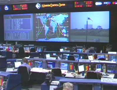 Centrum kontroli lotów Centrum Kosmicznego im. Kennedyego