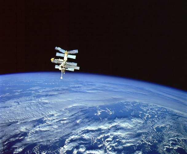 Mir widziany z promu kosmicznego