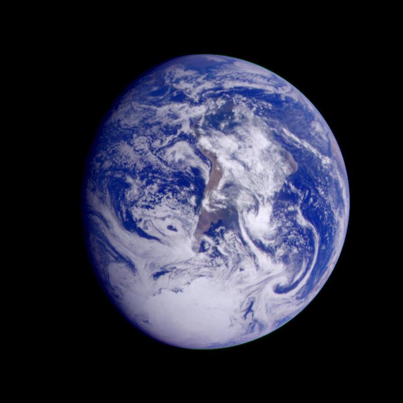 Ziemia widziana przez Galileo