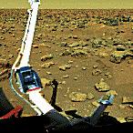 Powierzchnia Marsa widziana z sondy Viking-2